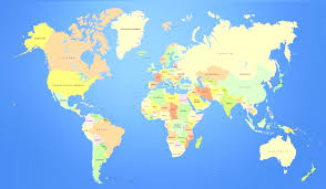 A Map Of Europe Map Of Europe And Asia Countries Travel Maps And Major Tourist