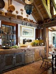 in this rustic kitchen you will see a return to a more simple life