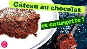 recette cuisine gateau chocolat gateau au chocolat et courgette sans beurre léger et trop bon