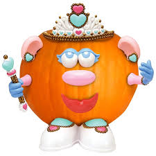 Potato Head Pumpkin Push In Kit