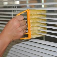 tripleclicks com window air conditioner microfibre venetian blind