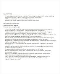 Financial Accountant Resume Sample by 20 Accountant Resume Examples Free U0026 Premium Templates