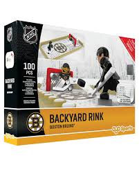 backyard rink boston bruins oyo sports nhl minifigures