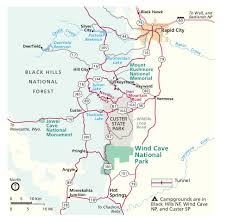 Pennsylvania State Parks Map by Wind Cave Maps Npmaps Com Just Free Maps Period