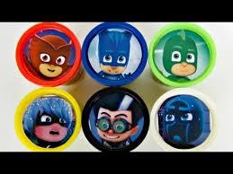learn colors pj masks disney jr owlette catboy gekko romeo