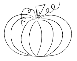 pumpkin outline drawing halloweenfunky com step by step