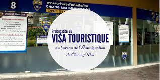 bureau de l immigration bureau de l immigration de chiang mai prolongation de visa touristique