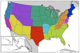 us desert map jared s one 1 nation 11 regions