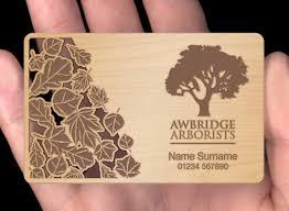 wood business cards plasmadesign