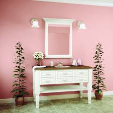 wonderful interior decor of small bathroom vanity ideas with pink