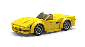 lego ford mustang lego chevrolet corvette c5 convertible instructions