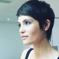 the weekends new haircut gemma arterton short crop hairstyle sharon stone unveiled her