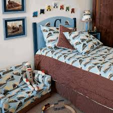 Train Cot Bed Duvet Cover Train Theme Bedroom Visit Our Store To See More Vintage Kids