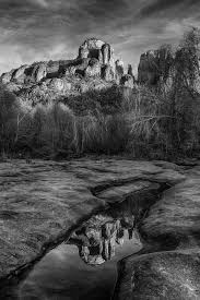 Cathedral Rock Reflections At Sunset Red Rock Crossing Red Rock Country Sedona William Horton Photography