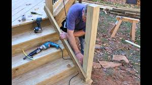 how to make a banister for stairs deck stair railing how to build how to build stair railing for