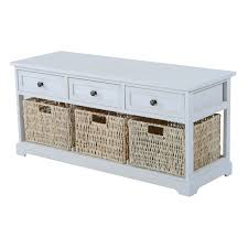 uncategorized white wood storage bench excellent for stunning
