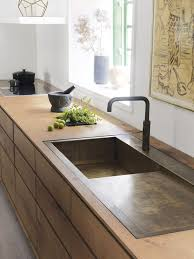 cuisine minimaliste cuisine minimaliste en bois et bronze minimalist kitchen wood