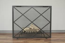 bronze fireplace screen binhminh decoration