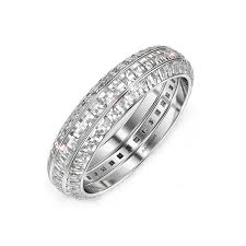 gold wedding ring sets white gold wedding ring set