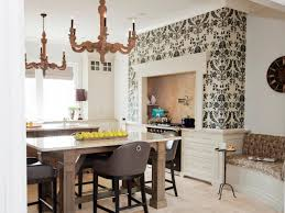green accent wall in kitchen ceramic field tile in zahra