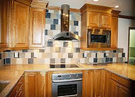 natural maple cabinets with granite kitchen tile backsplash remodeling fairfax burke manassas va design