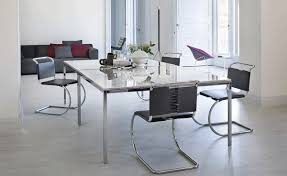 Dining Tables by Florence Knoll Square Dining Table Hivemodern Com
