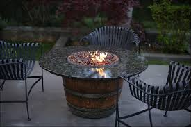 Wine Barrel Fire Pit Table by Crate And Barrel Fire Pit Fire Pit Design Ideas