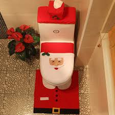 Santa Claus Rugs Aliexpress Com Buy Babaite Santa Claus Rug Toilet Seat Cover