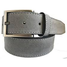 light brown suede belt grey italian belt company