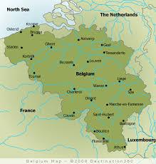 map belguim belgian belgium beaches