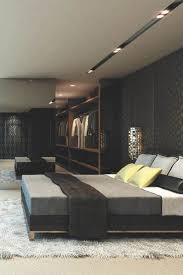 elegant masculine bedroom i love this one the bed the wall