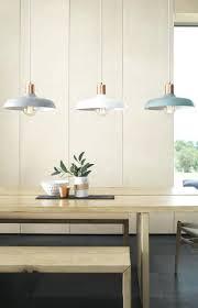 hanging light above dining room table living led pendant lights