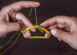 crochet bracelet diy images Crochet friendship bracelet tutorial knits for life jpg