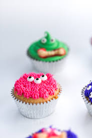 decorating a halloween party diy halloween monster cupcakes salty canary