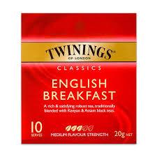 twinings breakfast tea bags 10 pack the marulan general