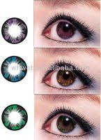 halloween contacts princess pinky cosplay white mesh