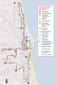 Chicago Marathon Map Review Chicago Marathon 2017 Pantip
