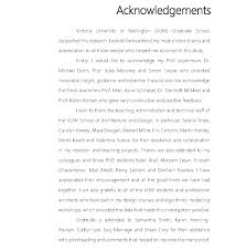 How to write acknowledgements for dissertation