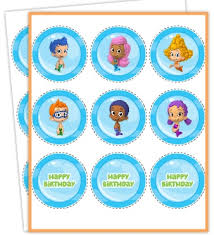Bubble Guppies Decorations Free Printables Bubble Guppies Jello Recipe And Nickelodeon Kids