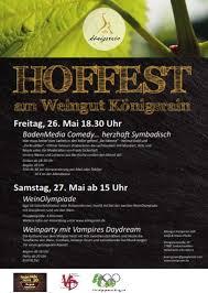 Baden Media Badenmedia Comedy Herzhaft Symbadisch Weingut Königsrain Hoffest