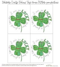 bnute productions free printable lucky to have a friend like you tags