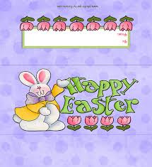 easter bunny candy free printable happy easter bunny candy bar wrapper ready to