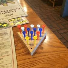cracker barrel table game photos for cracker barrel old country store yelp