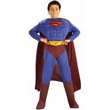 Rescue Bots Halloween Costume Kids Superman Returns Deluxe Muscle Boys Costume 29 99