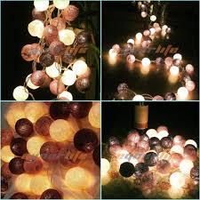 Room Lights String by Cheap Wholesale 20 Cotton Balls Led String Light Battery Box Diy