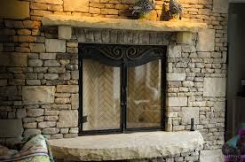 fireplace doors iron blacksmith kevin johnson the iron studio