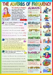 english exercises adverbs of frequency