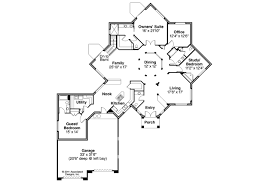 Angled House Plans Mediterranean House Plans Flora Vista 10 546 Associated Designs