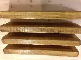 Thick Floating Shelves by 4 X 50cm Reclaimed Style Chunky Floating Shelf English Oak Shelves