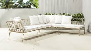 Outdoor Sofa Bed Le Rêve Outdoor Daybed Sectional Sofa Cb2